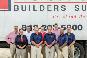 Charleston Sales Team for Professional Builders Supply