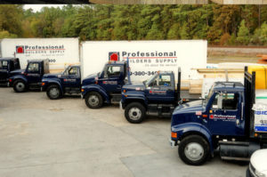 Professional Builders Supply Truck Fleet
