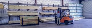 Professional Builders Supply Charleston Forklift