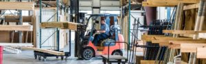 Professional Builders Supply Wilmington Forklift