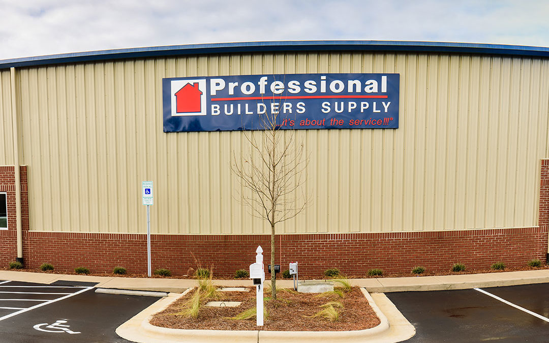 Professional Builders Supply Launches New Website